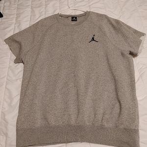 Jordan cut off gym shirt